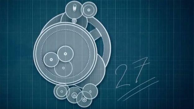 diseño 27 ruedas de engranaje