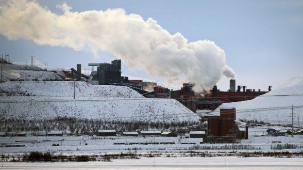 Mina de hierro de Kiruna