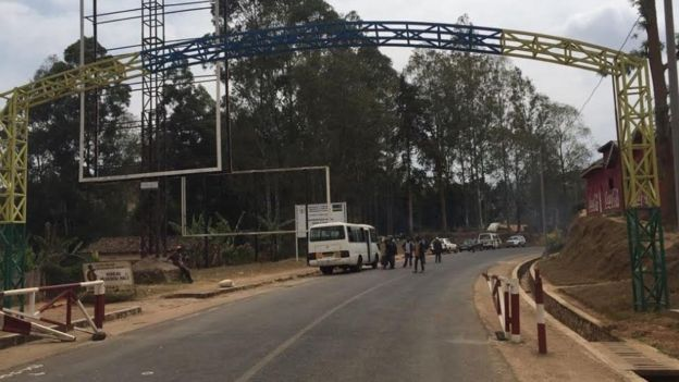 Rwanda border
