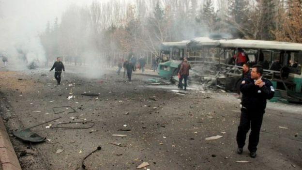 بمبگذاری در کایسری