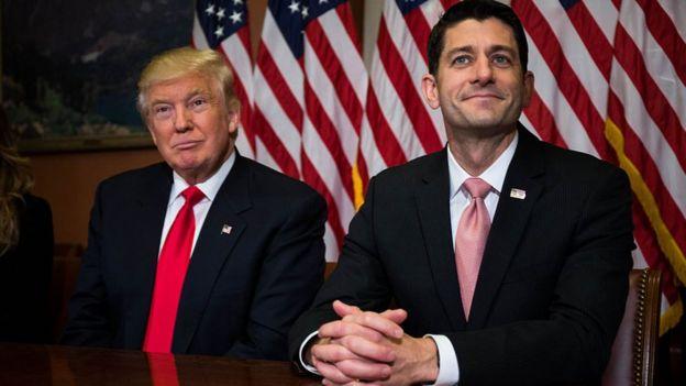 Trump y Ryan