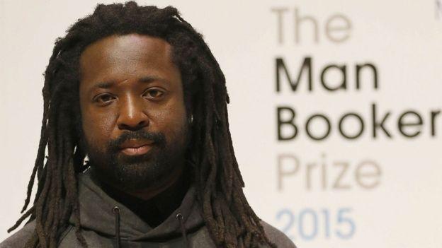 Man Booker Prize 2015: Marlon James wins for A Brief History of Seven Killings - BBC News - _86105473_marlon-james