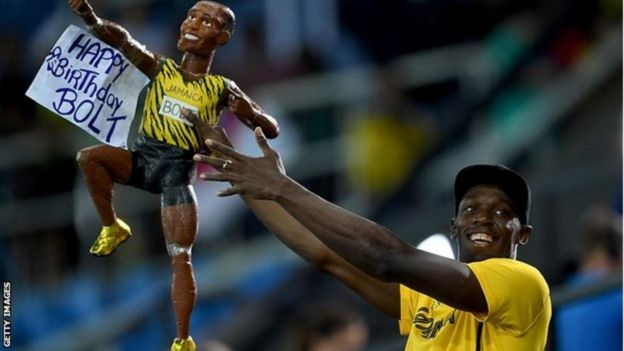 Ushindi wa Usain Bolt unakuja siku tatu kabla ya kuadhimisha siku yake ya kuzaliwa