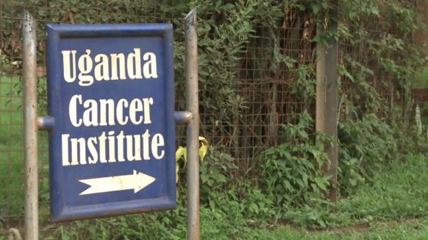 Cancer institute sign