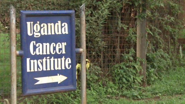 Cancer institute sign