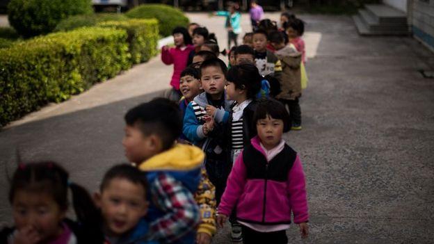 中国小孩子