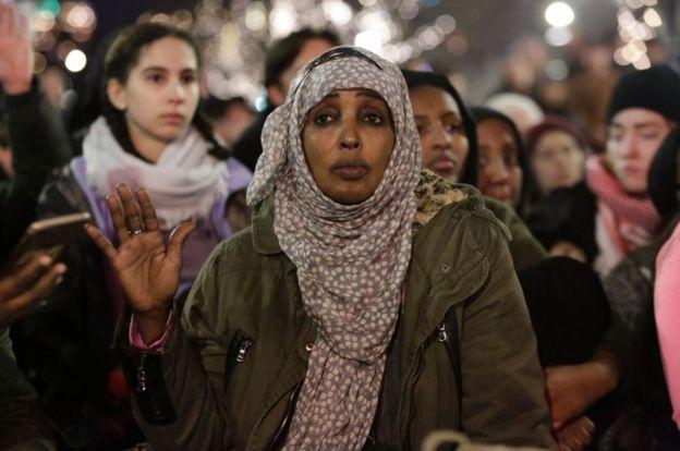 Muddaharaad ka dhan ah amarka Trump