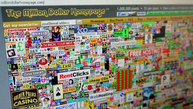 Bir Milyon Dolarlık Sayfa (Million Dollar Homepage)