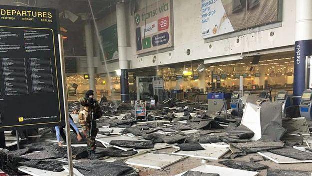 Ataque ao aeroporto de Bruxelas, na Bélgica