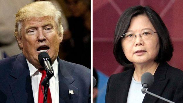 Ông Trump và bà Thái chúc nhau trở thành lãnh đạo.