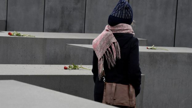 Berlin's Holocaust memorial (file pic)