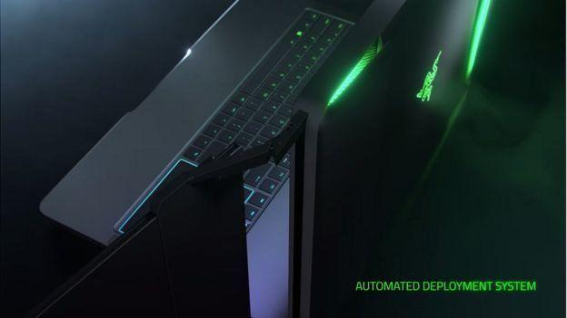 Razer'ın üç ekrana sahip dizüstü bilgisayarı Project Valerie