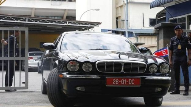 朝鮮使館人員離開吉隆坡中央醫院