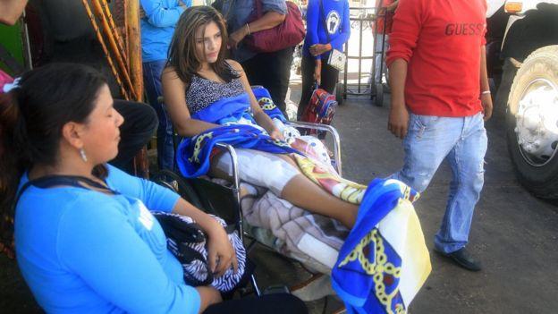 María Felinda Ojeda, habitante de Toas