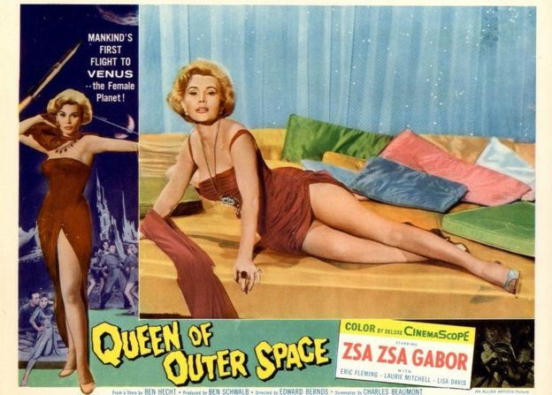 Poster for Queen of Outer Space