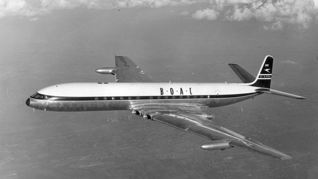 O De Havilland Comet, popular nos anos 50 e 60