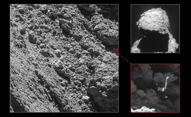 Philae images