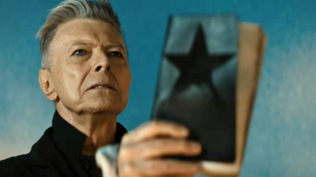 David Bowie en el video de Blackstar