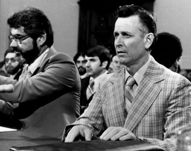 August 1968: James Earl Ray giving evidence before the House Committee Investigation of Assassinations