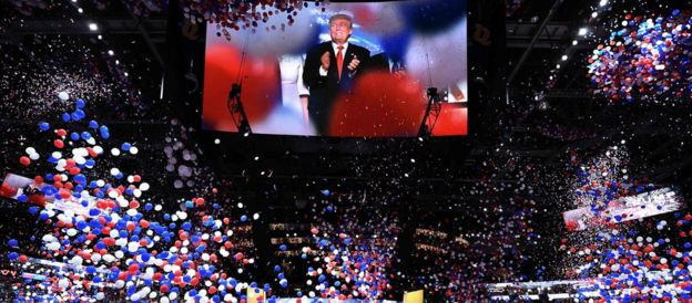 Donald Trump victory party