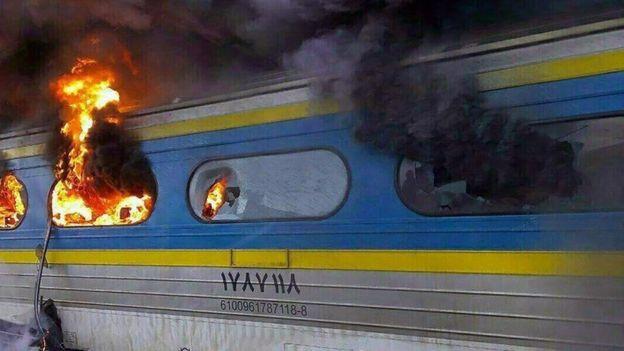 تصادف قطار