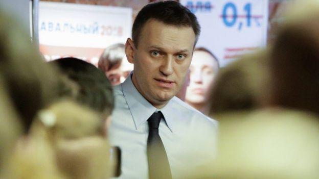 Bwana Navalny anasenma kuwa kesi hiyo imechochewa kisiasa