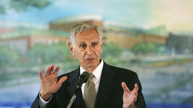 Former Governor George Deukmejian