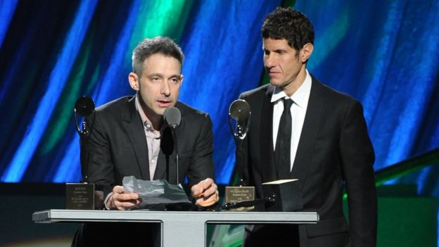 Adam Horovitz and Mike Diamond