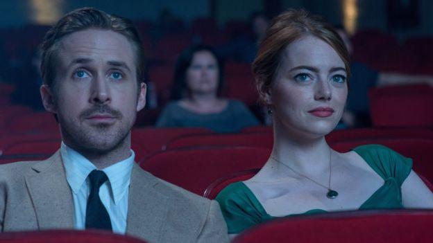 Ryan Gosling y Emma Stone en La La Land