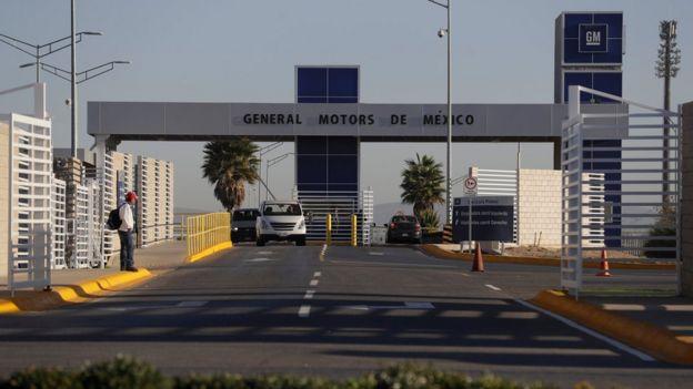 Planta de General Motors en Villa de Reyes.