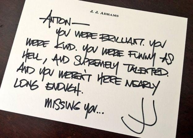 JJ Abrams tweet: