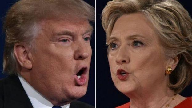 Trump və Clinton