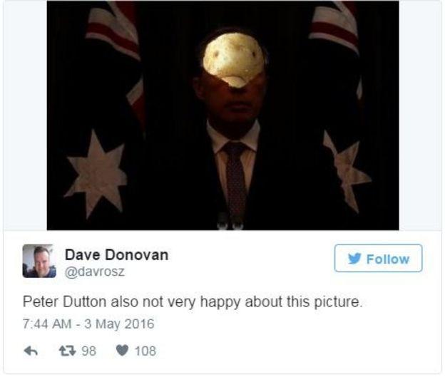 Dave Donovan tweets: