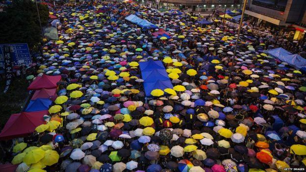 Protests in Hong Kong (Oct 2014)