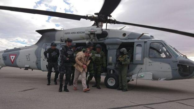 Extradición del Chapo