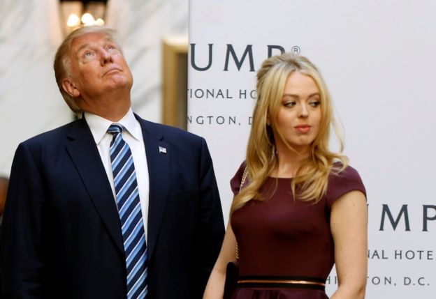 Tiffany Trump no es tan conocida como su hermana Ivanka.