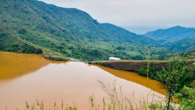 Lago Nyos, en Camerún