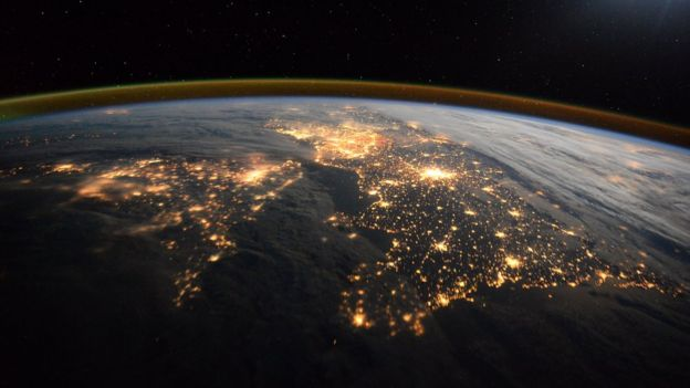 British Isles from the ISS