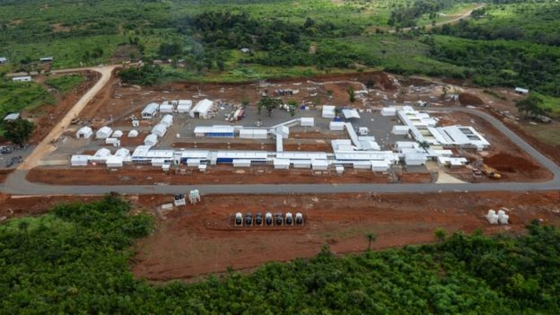 Kerry Town Ebola treatment centre