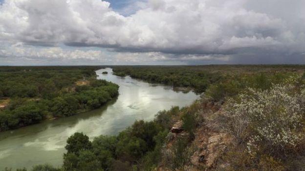 El río Bravo