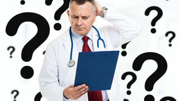 Doctor confundido