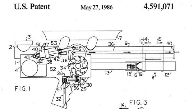 Diagrama para la oficina de patentes