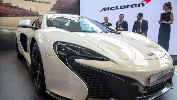 McLaren supercar