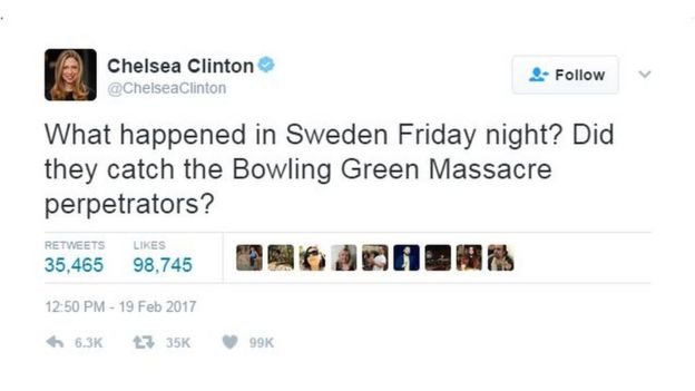Chelsea Clinton tweets
