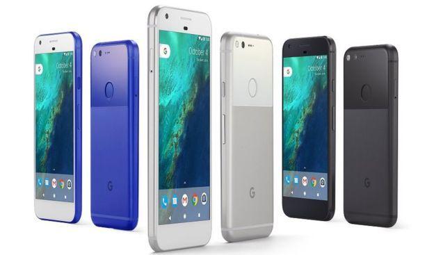 Celulares Pixel de Google