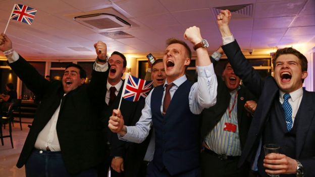 Simpatizantes del Brexit