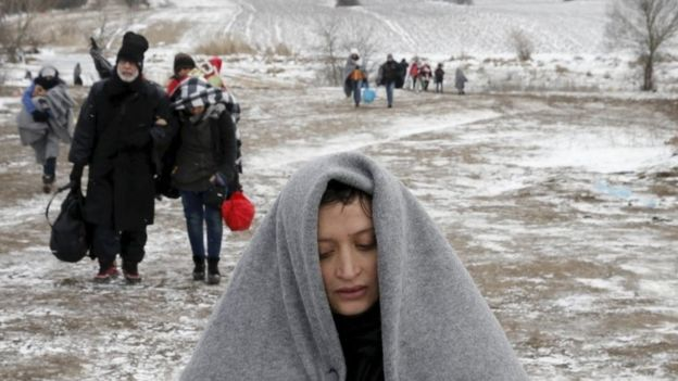 Migrants in the Balkans
