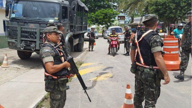 Fuerzas de seguridad brasileñas