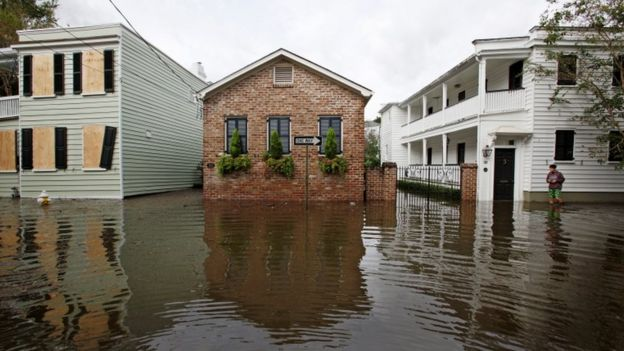 Flooding in Charleston, South Carolina