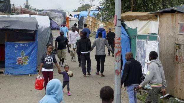 Inmigrantes viviendo en